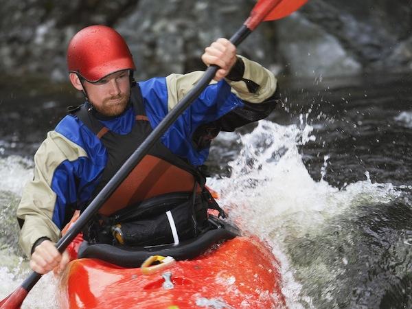 Kayaking Latton, Gloucestershire