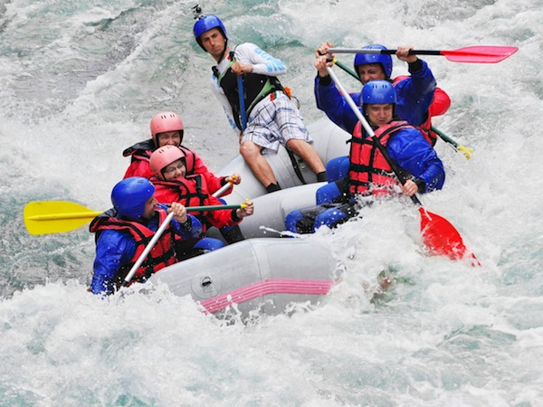 White Water Rafting River Tay, Perth and Kinross